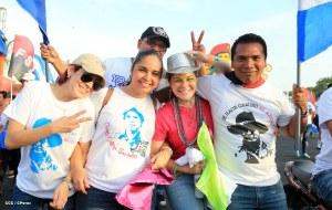 Nicaraguan youths